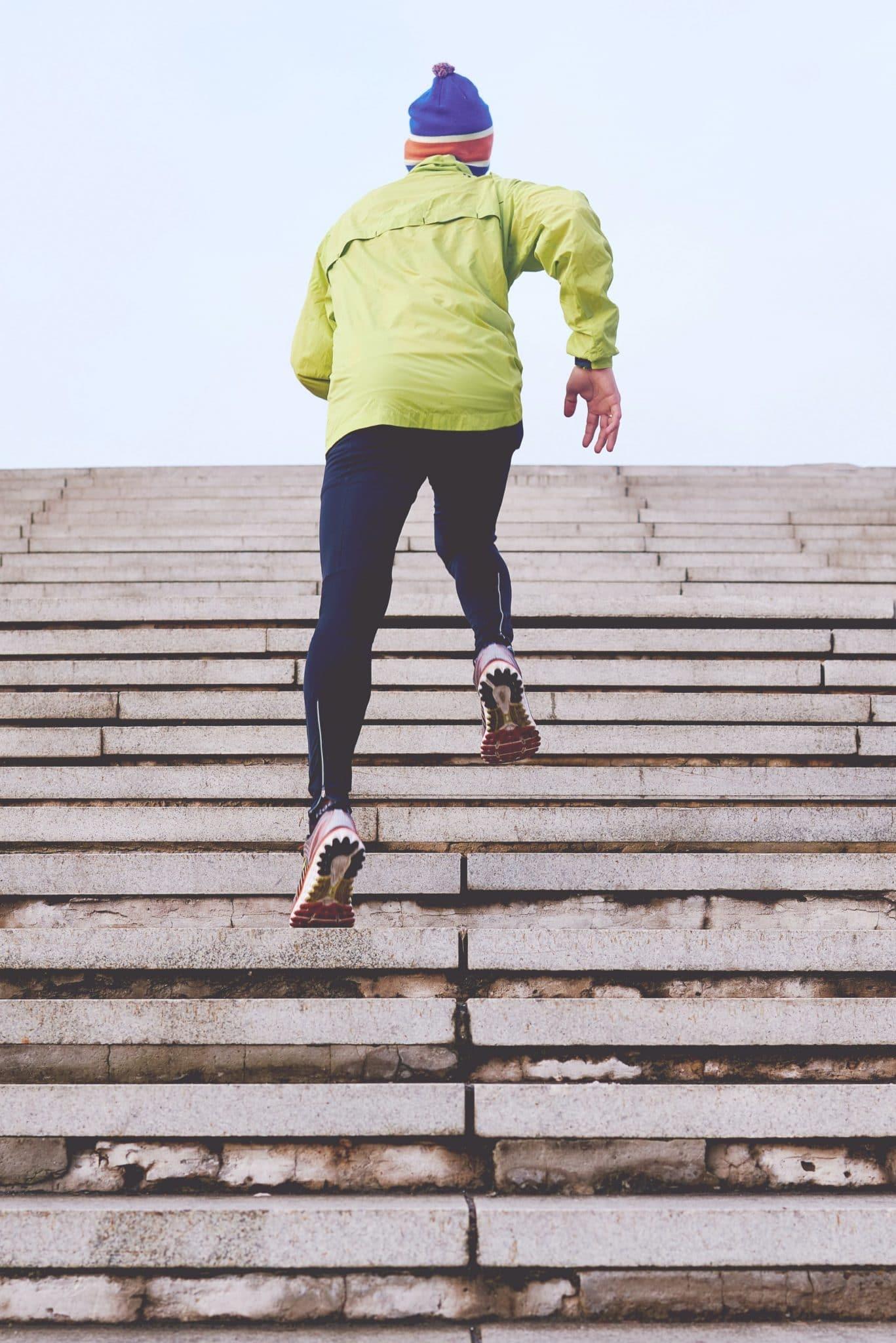 entraînement en escaliers pour booster son cardio